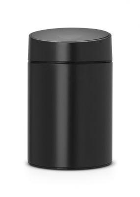 BRABANTIA - BLACK PLASTİK KAPAKLI ÇÖP KUTUSU 5L (1)